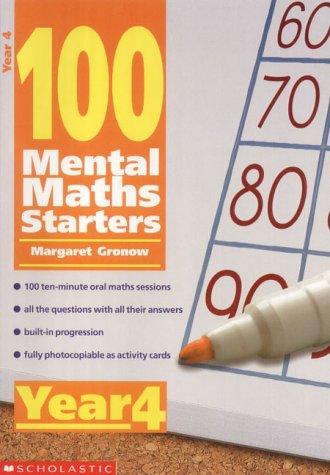 9780439019033: 100 Mental Maths Starters: Year 4