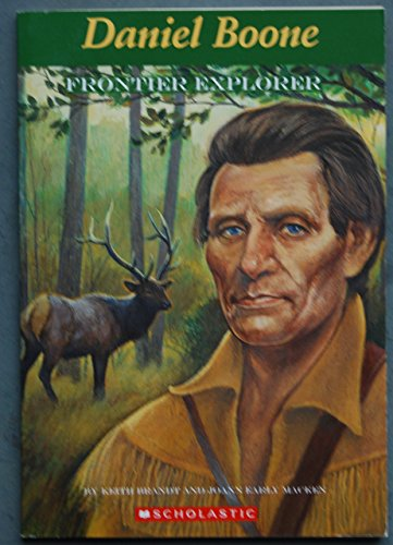 9780439020206: Daniel Boone Frontier Explorer