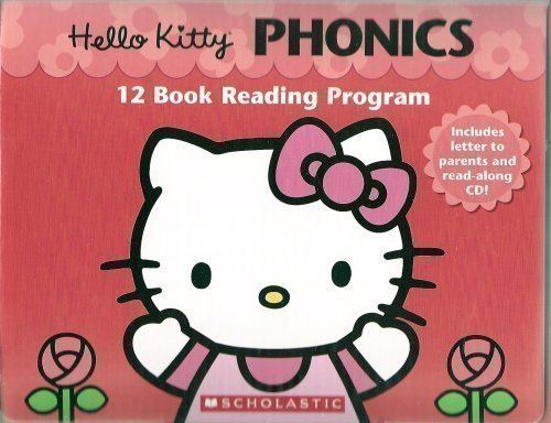 9780439021159: Hello Kitty Phonics 12 Book Reading Program
