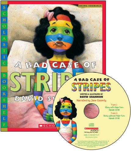 9780439023283: A Bad Case Of Stripes - Library Edition