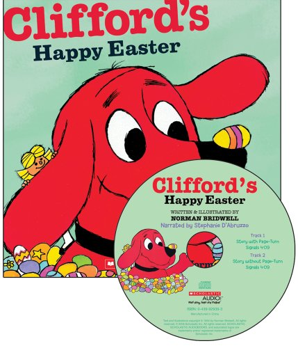 9780439023290: Clifford's Happy Easter - Audio Library Edition