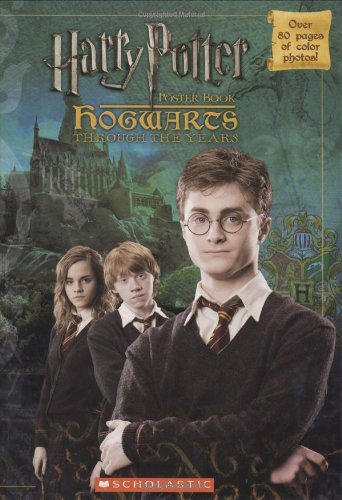 Harry Potter poster book - Hogwarts Through: Scholastic Inca