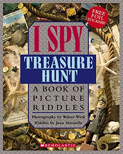 9780439026741: I Spy Treasure Hunt: A Book of Picture Riddles