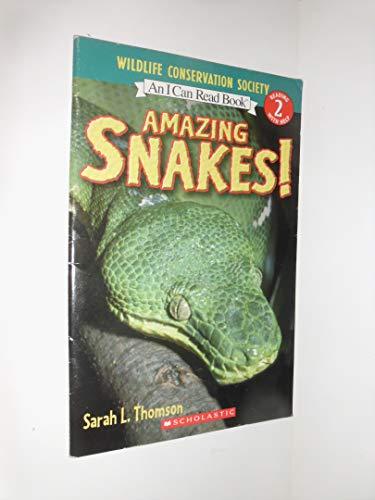 9780439028431: Amazing Snakes!