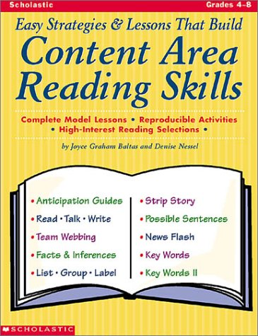 9780439040921: Easy Mini-Lessons That Build Content Area Reading Skills