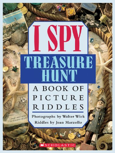 9780439042444: I Spy Treasure Hunt: A Book of Picture Riddles