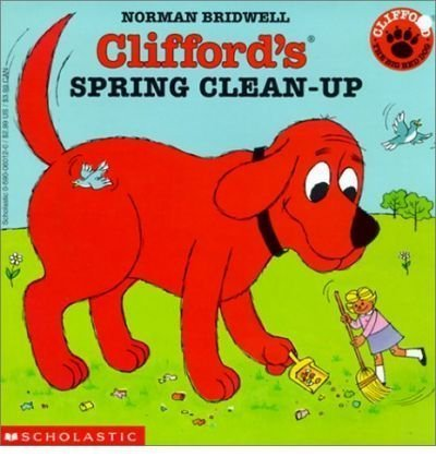 9780439043373: Clifford's Spring Clean-up