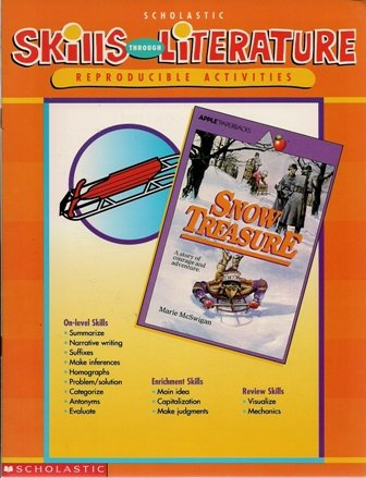 9780439044615: Skills through literature: Reproducible activities