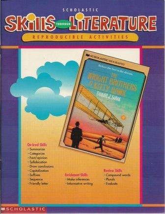 9780439044691: Skills through literature: Reproducible activities