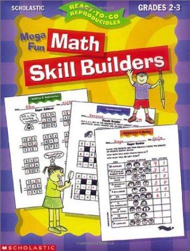 9780439044936: Mega-Fun Math Skill Builders: Grades 2-3 (Ready-To-Go Reproducibles)