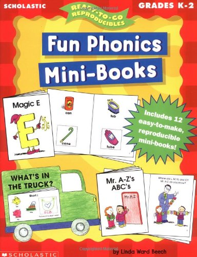 9780439047616: Fun Phonics Mini-Books (Ready-To-Go Reproducibles)