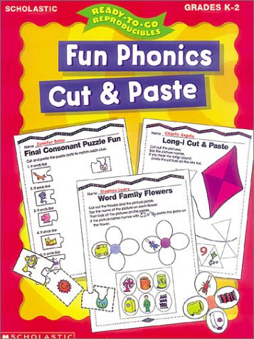 9780439047623: Fun Phonics Cut and Paste (Ready-to-Go Reproducibles)