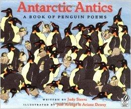 9780439056366: Antarctic Antics: A Book of Penguin Poems