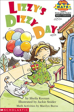 Lizzy's Dizzy Day (Hello Reader! Math Level 2): Sheila Keenan; Illustrator-Jackie Snider