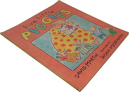 9780439077200: Five Little Piggies