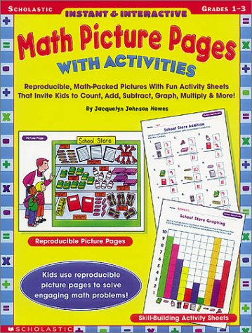 9780439077484: Instant & Interactive Math Picture Pages With Activites