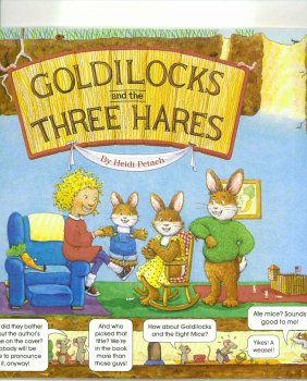 9780439077774: Goldilocks and the Three Hares