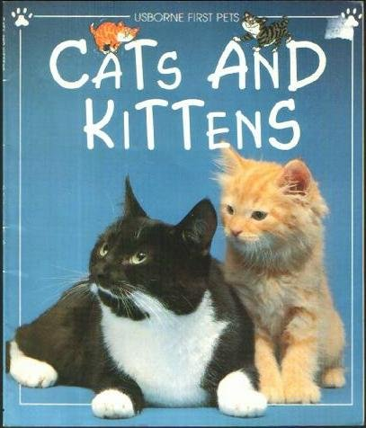 9780439081955: Cats and kittens (Usborne first pets)