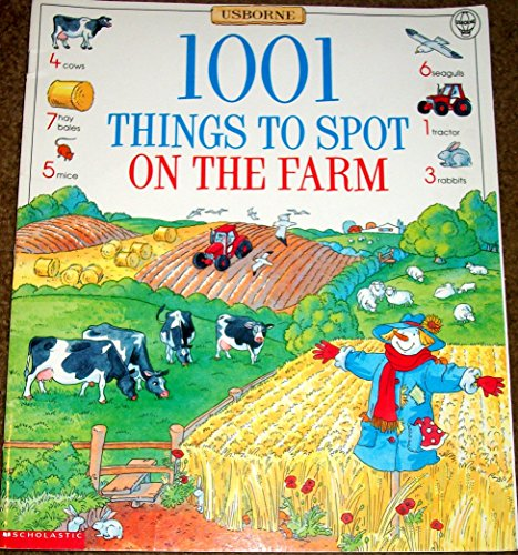 9780439082174: 1001 Things to Spot on the Farm (Usborne)