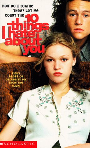 9780439087308: Ten Things I Hate about You: A Novelisation