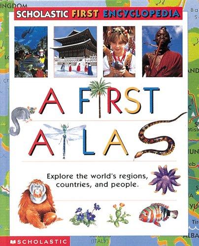 9780439087957: Scholastic Atlas Of The World