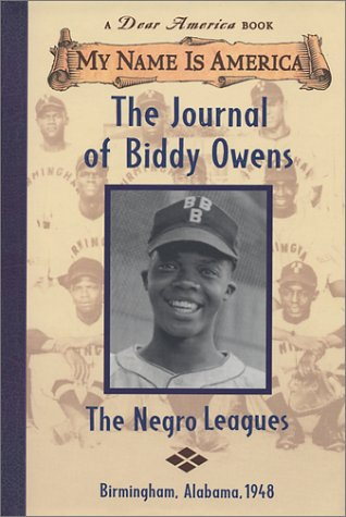 The Journal of Biddy Owens: The Negro: Walter Dean Myers