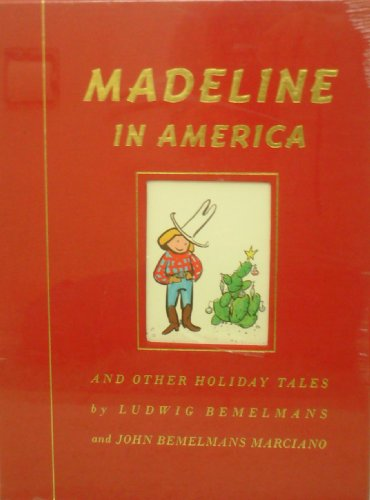 9780439096331: Madeline in America: And Other Holiday Tales