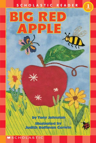 9780439098601: Big red apple (hello reader 1)