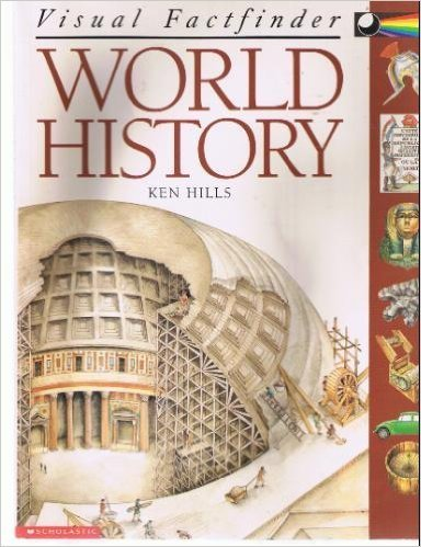 9780439099684: World History (Visual Factfinder)