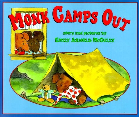 9780439099769: Monk Camps Out