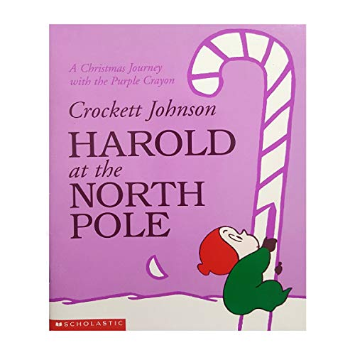 9780439104678: Harold at the North Pole: A Christmas journey with the purple crayon