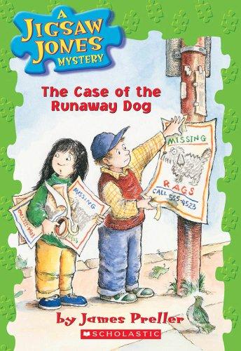 9780439114264: The Case of the Runaway Dog (Jigsaw Jones Mystery #7)