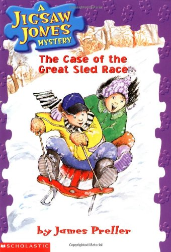 9780439114271: The Case of the Great Sled Race (Jigsaw Jones Mystery, No. 8)