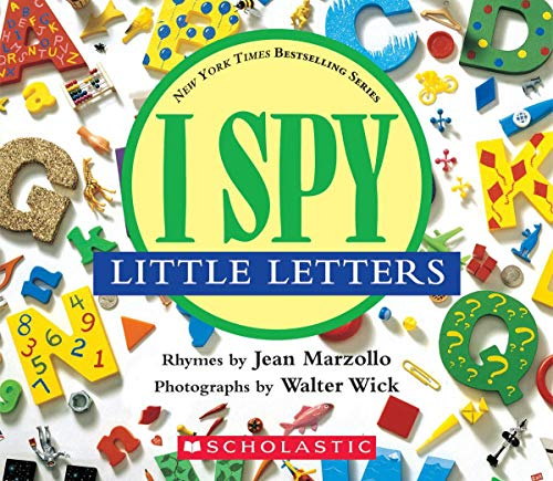 9780439114967: I Spy Little Letters