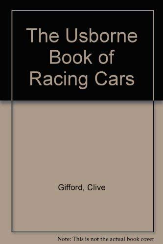 9780439120517: The Usborne Book of Racing Cars