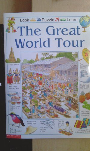 9780439120555: The great world tour (Look puzzle learn)