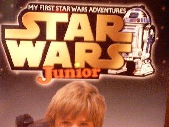 9780439130073: Star Wars Junior: Anakin's Activity Magazine