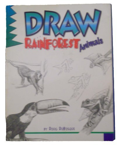 9780439133104: Draw Rainforest Animals