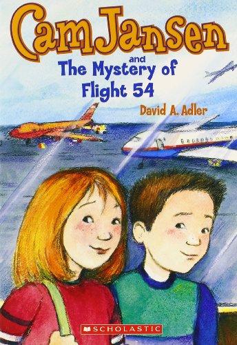 9780439133845: Cam Jansen and the Mystery of Flight 54 (Cam Jansen Adventure Series)
