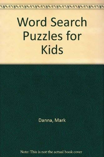 9780439135078: Word Search Puzzles for Kids