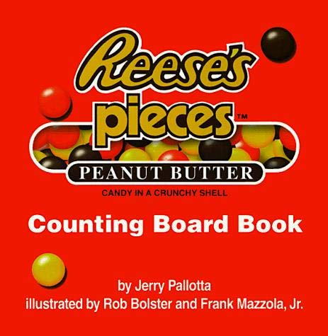 9780439135221: Reese's Pieces Counting Board Book