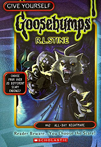 9780439135306: All-Day Nightmare (Give Yourself Goosebumps)