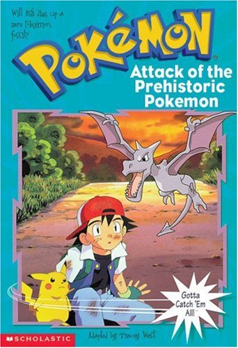 Pokemon Chapter Book #03: Attack Of The Prehistoric Pokemon 9780439135504 Gotta read 'em all! Ash, Misty, Brock, and Pikachu go on a Pokemon fossil dig. Things get explosive when Team Rocket accidentally wakes up some cranky ancient Pokemon -- including a flying Aerodactyl! Then, in the middle of the action, Ash finds a mysterious Pokemon egg. Could it hold an unknown Pokemon?