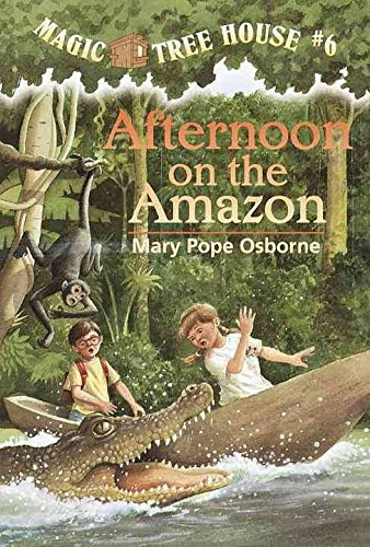 9780439136792: Magic Tree House #6 Afternoon on the Amazon