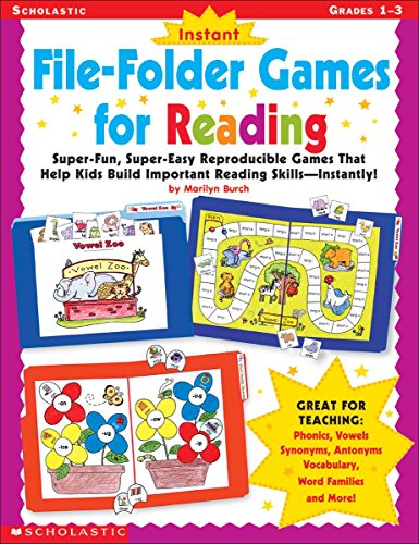 9780439137317: Instant File-Folder Games for Reading: Super-Fun, Super-Easy Reproducible Games That Help Kids Build Important Reading Skills-Independently!