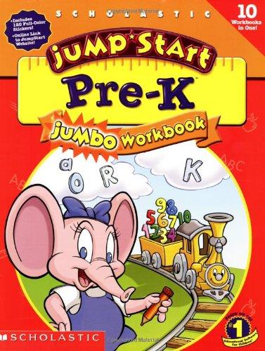 Jumpstart Pre-k: Jumbo Workbook