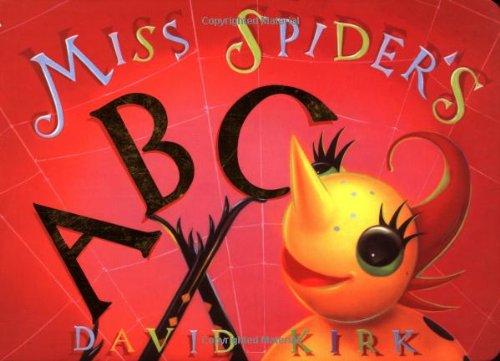 9780439137478: Miss Spider's Abc Board Book