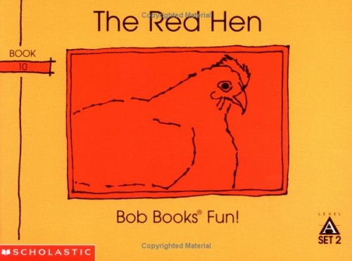 The red hen (Bob books) (0439145082) by Maslen, Bobby Lynn