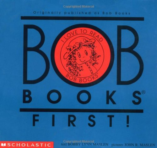 9780439145442: Bob Books First! Level A, Set 1 (re-released as Bob Books Set 1- Beginning Readers)