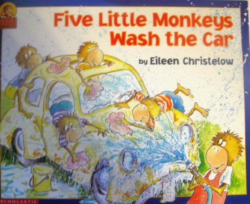 9780439150750: Five Little Monkeys Wash the Car (Five Little Monkeys)